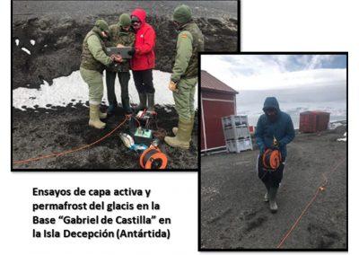 Estudio sísmico en la Antártida, en colaboración con el Ejército de Tierra español